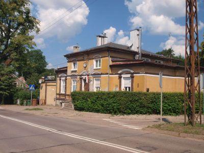 Dom na rogu ulic Zamkowej i Wojska Polskiego