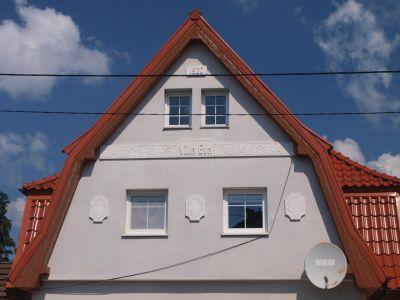 Zdobienia elewacji domu Villa Eva