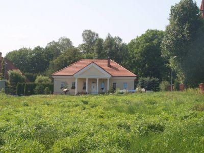 Dom prywatny w stylu dworku szlacheckiego