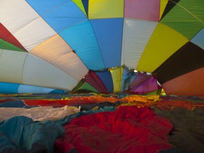 Balon od środka