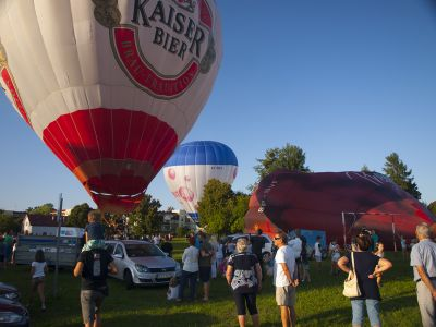 Kilka balonów jednocześnie