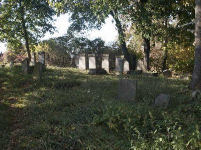 Widok cmentarza