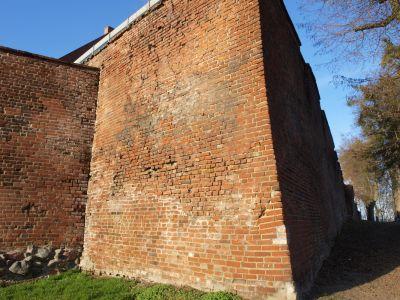 Mur przy Bramie Młyńskiej