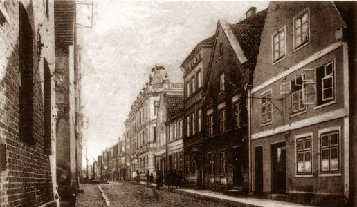 Przedwojenna ulica Starówki