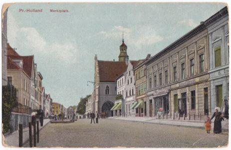 Ulica Chrobrego (rynek Starego Miasta)
