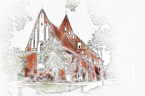 Gotyckie detale kościoła św. Bartłomieja