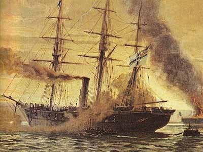 Alex_Kircher_2,_Korvette_Augusta_1870