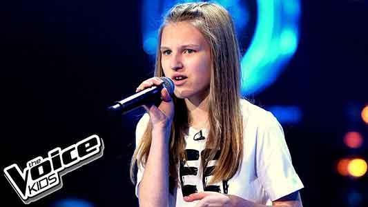 Talenty wokalne Oktawia Bernaś