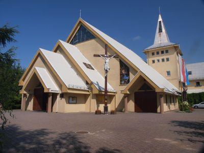 Kościół bł. Jerzego Matulewicza z elementami stylu góralskiego