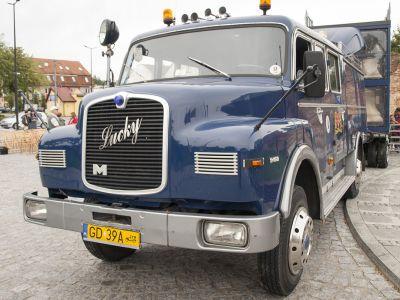 Zabytkowe auto strażackie z 1971 roku