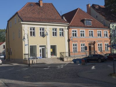 Dwa domy przy ulicy Chrobregro