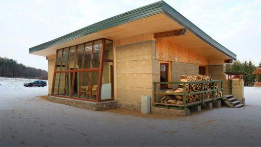 Dom Ekologiczny koło Jezirka fot. Onet