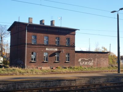 Mieszkalny budynek dworca kolejowego