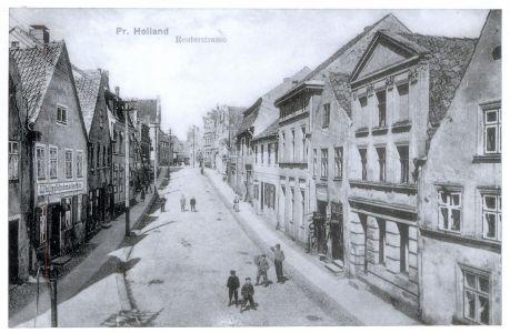 Ulica starówki (przed zburzeniem)
