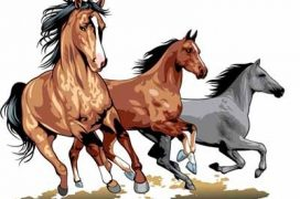 running_horses
