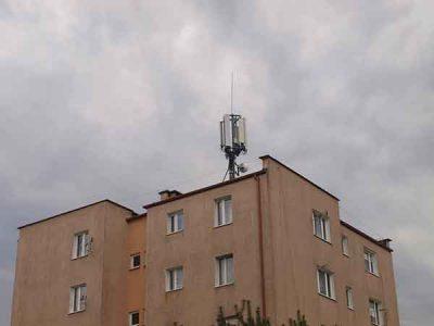 BTS - dach budynku, ul. Mickiewicza